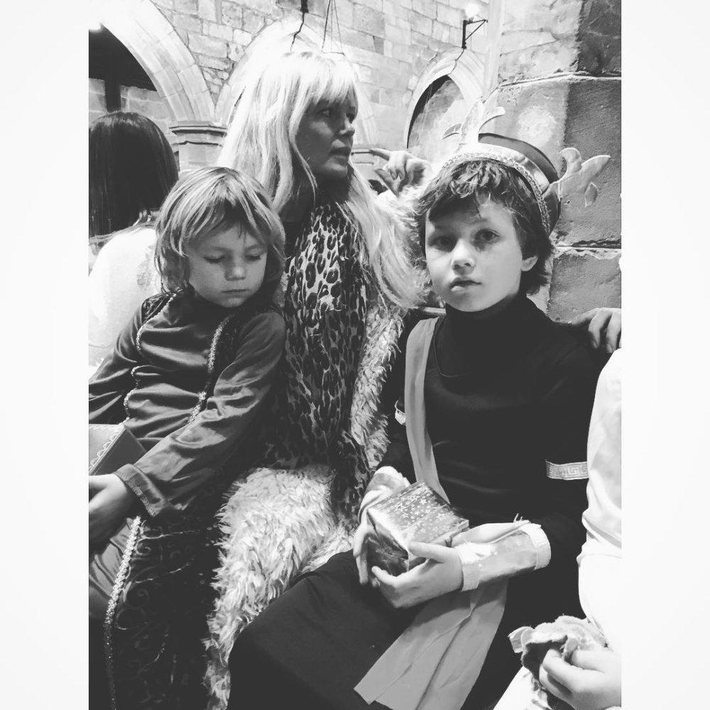2 of the 3 kings with Mama ???❤️ #nephews